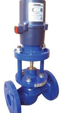 Клапаны питания котлов дисковые КРП-50Мд