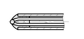 Открытый изолированный спай для КТХА...КТНН-0299