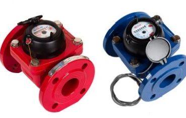 Счетчики воды турбинные ЭКОМЕРА-50Ф, 65Ф, 80Ф, 100Ф, 150Ф универсальные фланцевые импульсные