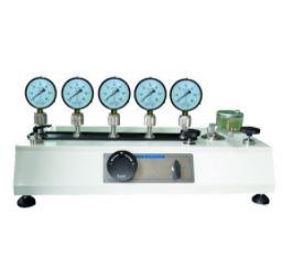 Коллектор-стойка ТСК-600-5В для поверки манометров