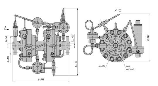 Регулятор-монитор осевого типа, АРТ-85