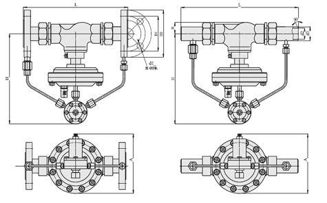"""Регуляторы давления """"после себя"""" (АРТ-85), Ду 15-32, с мембранным приводом"""