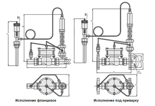 Регуляторы температуры (АРТ-88), Ду 15-32