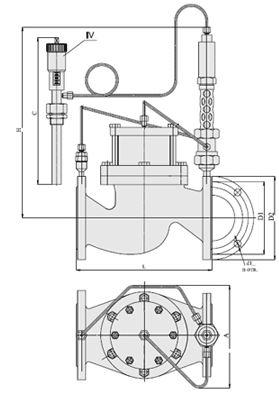 Регуляторы температуры (АРТ-88), Ду 40-150