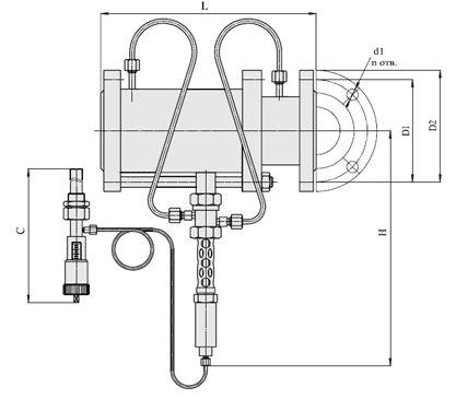 Регуляторы температуры (АРЖ-88), Ду 50
