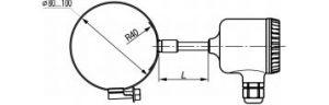 Термометры сопротивления ДТС-325М-RS, рисунок