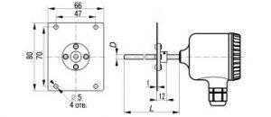 Термометры сопротивления ДТС-405М-RS, рисунок