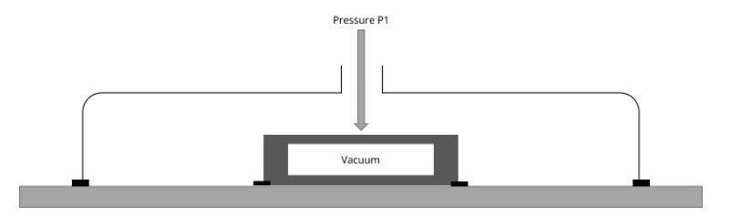 Принцип измерения давления датчиками абсолютного давления