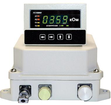 Цифровой мегаомметр ЦМ1628.1
