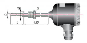 Рисунок термопар ДТП-035М,-045М-RS