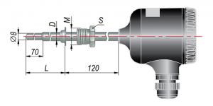 Рисунок термопар ДТП-055М-RS