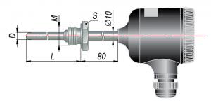 Рисунок термопар ДТП-065М,-075М,-085М-RS