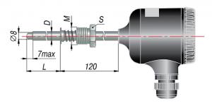 Рисунок термопар ДТП-095М-RS