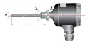 Рисунок термопар ДТП-105М-RS