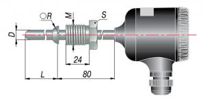 Рисунок термопар ДТП-205М,-215М-RS