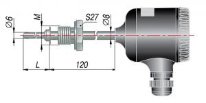 Рисунок термопар ДТП-265М-RS