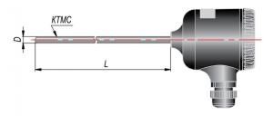 Рисунок термопар ДТП-275М-RS
