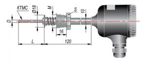 Рисунок термопар ДТП-295М-RS