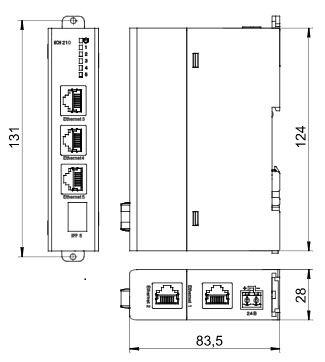 КСН210-5 – 5-портовые сетевые неуправляемые коммутаторы