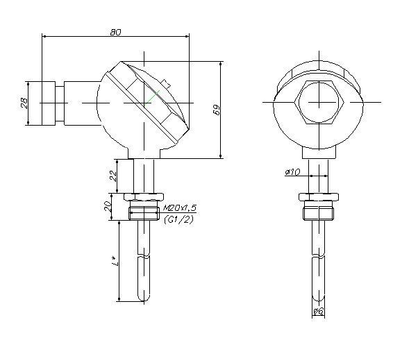 Термопреобразователи Орион-16