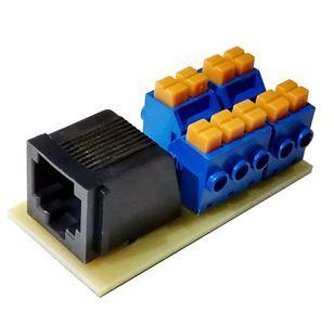 Коннектор Decast RJ/imp-RS485