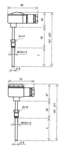 Термометры сопротивления ТЭМ 100 схема