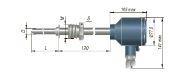 Конструктивное исполнение (рисунок) термопреобразователей ДТС-035/-045/-145.Д-PT100.И-EXD
