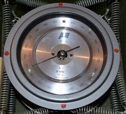 Барометр-анероид метеорологический контрольный М-67