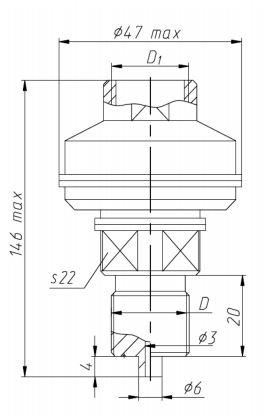 Габаритные размеры разделителей РМ-5324М