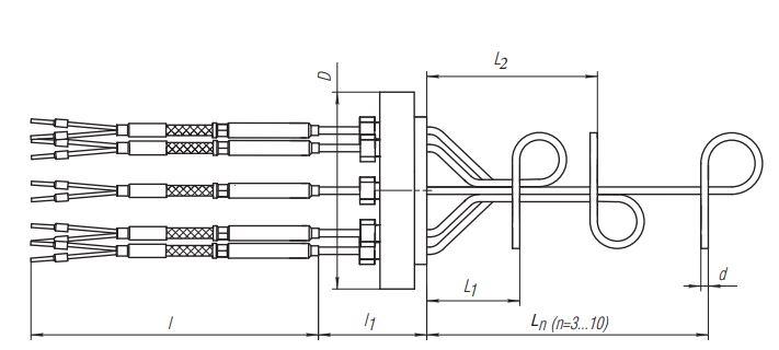 Термопреобразователь ТПМ-301 рисунок 3