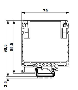 Габариты. Преобразователь VME-100-2 (с выходом 4-20мА)