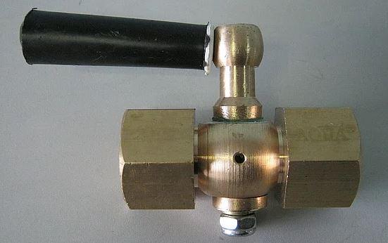 Кран трехходовой G12-М20х1,5
