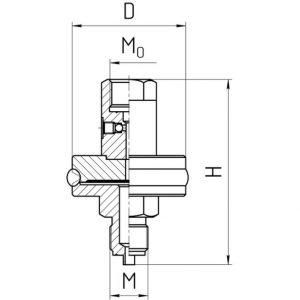 Габаритные размеры разделителя РС-250