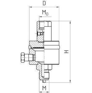 Габаритные размеры разделителя РС-250-П