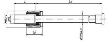 Рисунок-1 термопреобразователей ТСМ/ТСП-322М