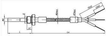 Рисунок-2 термопреобразователей ТСМ/ТСП-322М