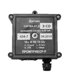 датчик СИГМА-03.ДЭIP54 (угарный газ)