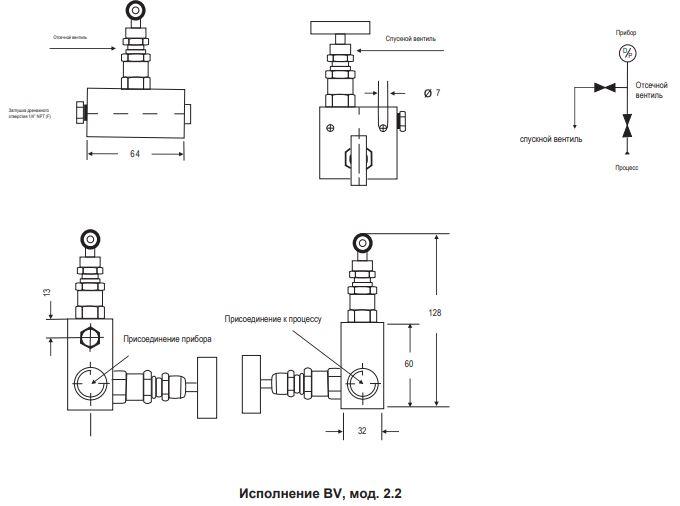 Двухвентильный блок BV-2.2