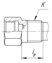 Исполнение уплотнительных поверхностей гильз ГТ-701, ГТ-701М, рисунок 4