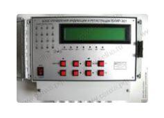 Блок управления, индикации и регистрации БУИР-301-16
