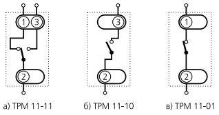 Схема подключения ТРМ-11
