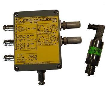 Датчики давления СТЭК-1,-4,-STEK-CAN